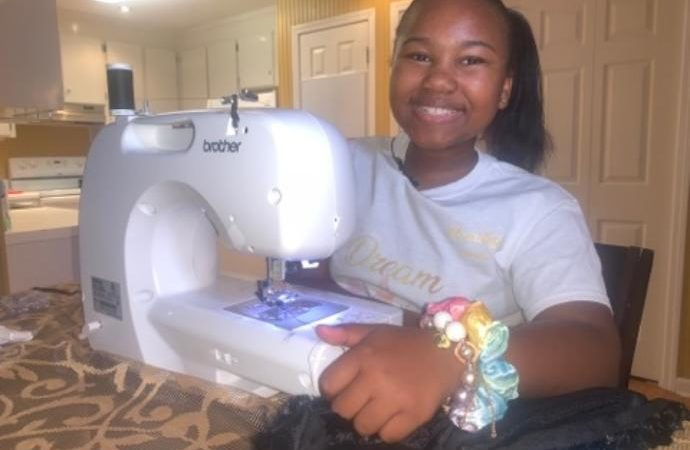 11-year-old fashion designer plans to inspire others