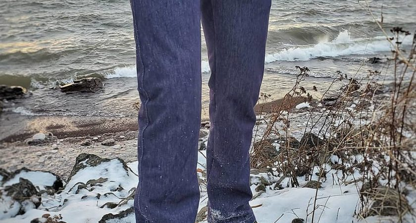 Minnesota-made Arctic Denim pants are intended for fashion as well as warmth