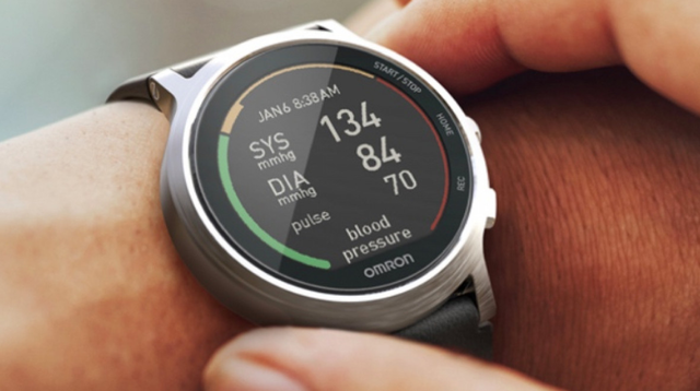 Wearable blood pressure monitor intended to fit any way of life