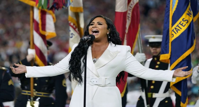 Super Bowl 2020 national song of praise prop bet: Demi Lovato sings in less than two minutes ahead Chiefs versus 49ers